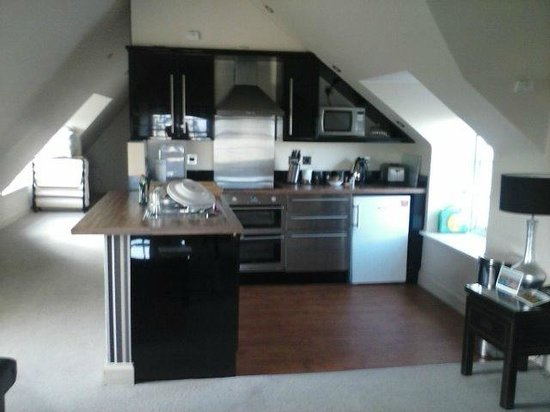 Stay Edinburgh City Apartments - Royal Mile: Second apartment (kitchen)