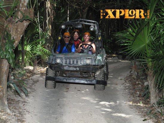 Parque Xplor: ATV course