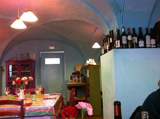 Restaurant La Cooperativa: Interior of restaurant