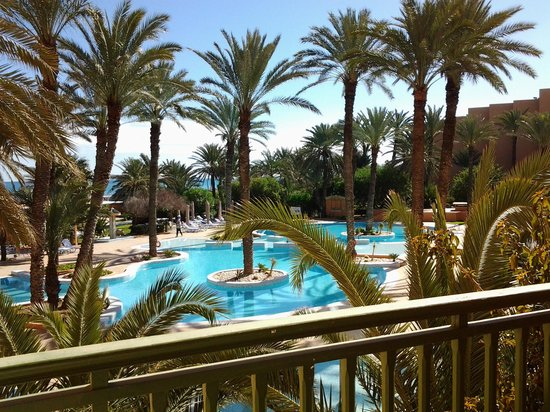 Hotel Vendome El Ksar Resort & Thalasso: poolside view