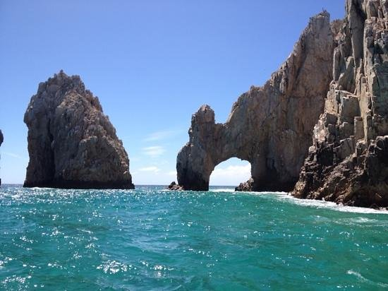 The Arch in Cabo San Lucas from our Cabo Sails boat