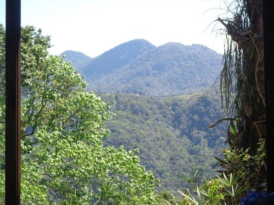 Chale Da Montanha : Vista do restaurante.