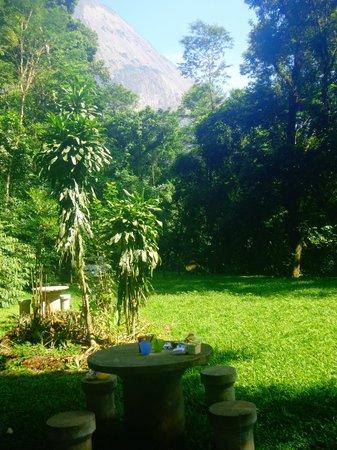 Parque Nacional da Serra dos Órgãos: Vista do camping.