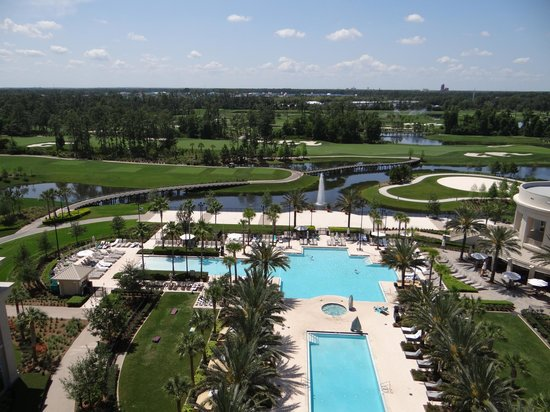 Waldorf Astoria Orlando : View from the balcony