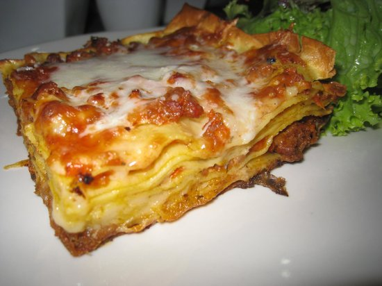 Warung Yuti : Lasagne homemade