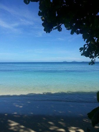 Castaway Island Fiji : View to the Mamanuca Islands 06.03.14