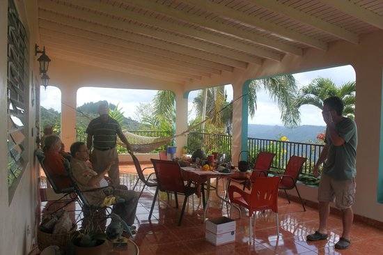 Adjuntas, Puerto Rico: Very comfortable family type atmosphere.