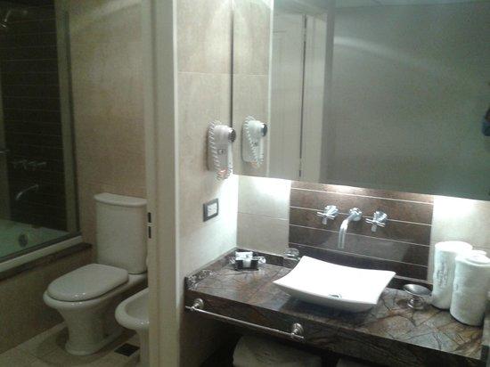 Howard Johnson Hotel Boutique Recoleta: Baño