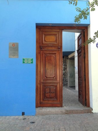 La Chascona (maison de Pablo Neruda) : Entrada