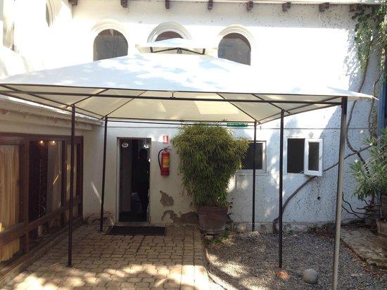 La Chascona (maison de Pablo Neruda) : Terraço interno