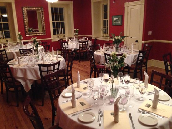 Pittstown Inn: The private dining room