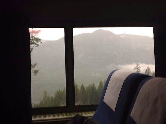 view between Chemult and Eugene, OR on Coast Starlight