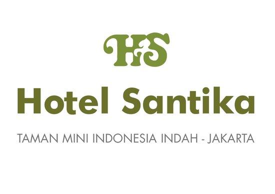 Hotel Santika Taman Mini Indonesia Indah-: Hotel Logo