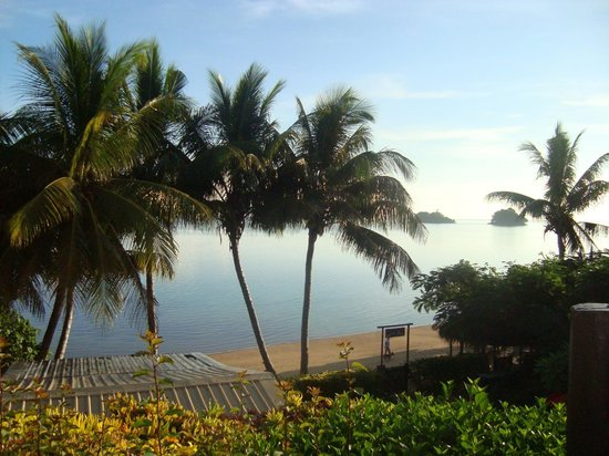 Coconut Grove Beachfront Cottages: View from Mango bure