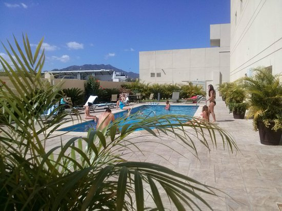 Hotel Aeropuerto Los Cabos : After a cancelled flight.....enjoying the sunny day