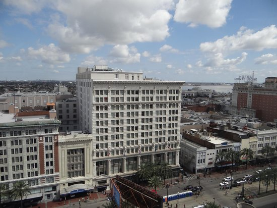 The Roosevelt New Orleans, A Waldorf Astoria Hotel: view of Ritz Carlton across the street