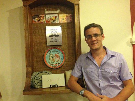 Manary Praia Hotel: Prêmio Tripadvisor