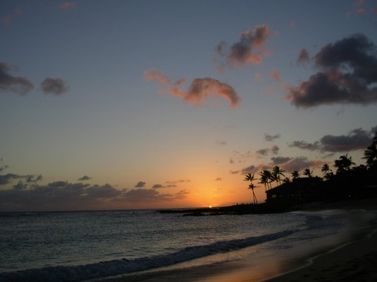 Kiahuna Plantation Resort: Gorgeous sunset every night