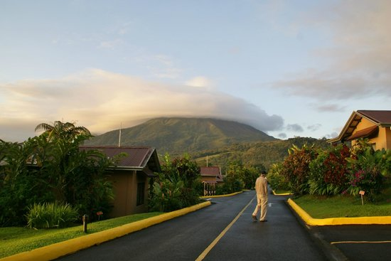 Arenal Springs Resort and Spa: View of Arenal Volcano