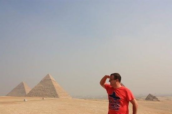 Ayman Ahmed - Tour Guide: Me acting the fool :)