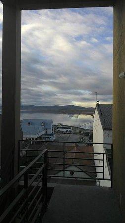Hotel Cap Polonio: Vista desde el tercer piso
