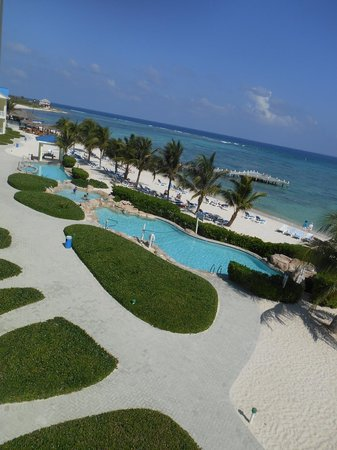 Wyndham Reef Resort: View from our room