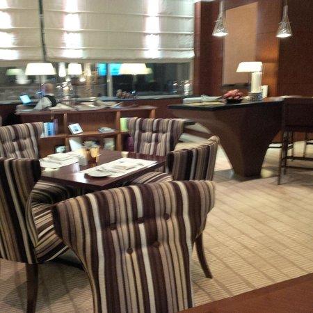 InterContinental Moscow Tverskaya Hotel: club lounge