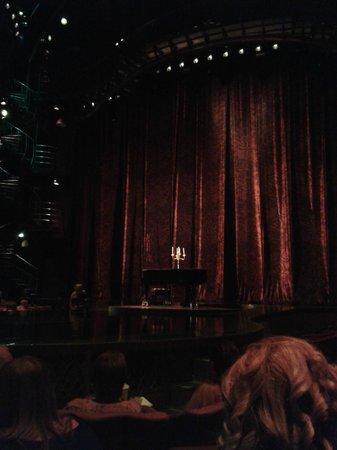 Zumanity - Cirque du Soleil : antes del show.