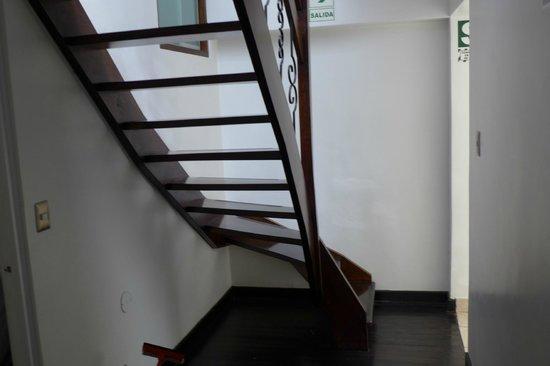 Wakapunku Hotel Boutique : Stairway