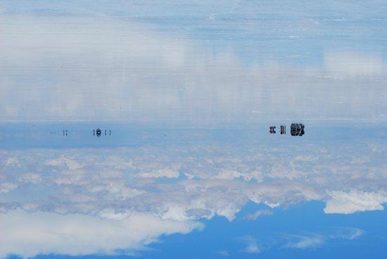 Salar de Uyuni: mirror effect
