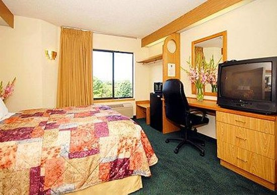 Econo Lodge Inn & Suites : typical single room
