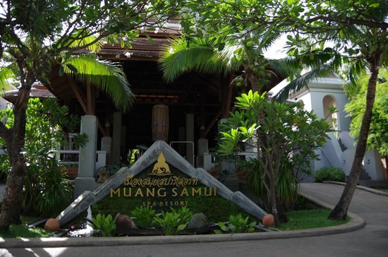 Muang Samui Spa Resort: ホテル入口