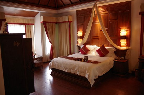 Muang Samui Spa Resort: 寝室