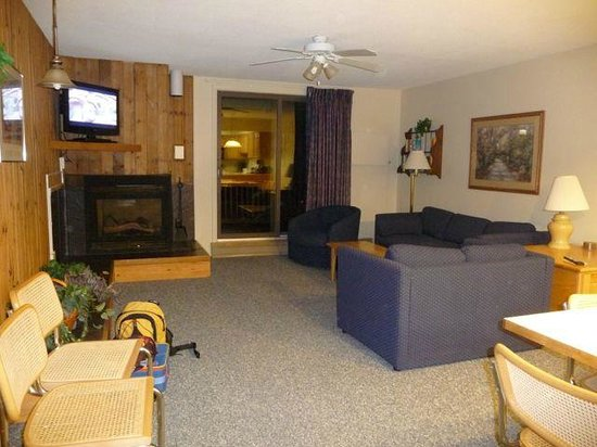 Smugglers' Notch Resort : Liftside 48+A Living Area