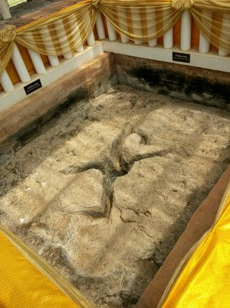 Lord Buddha's Footprints