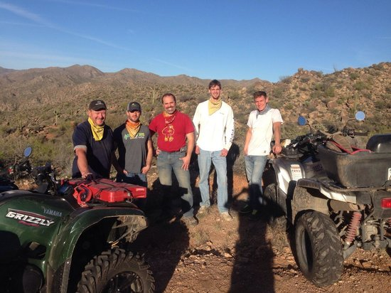 Adventures of a Lifetime ATV: BCS outing