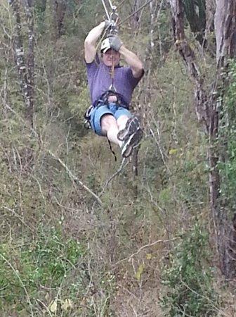 Huana Coa Canopy Adventure: Tim