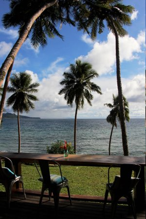 The Remote Resort Fiji Islands : view from main villa