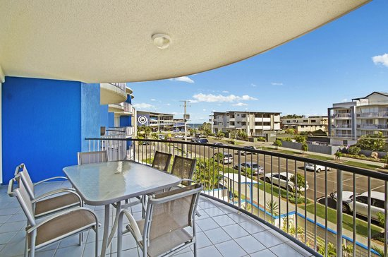 Coral Sea Holiday Apartments : Balcony with Ocean Views from Every Apartment