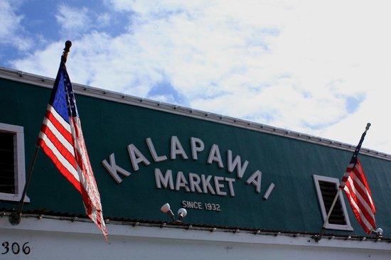 Kalapawai Cafe & Deli: Outside sign