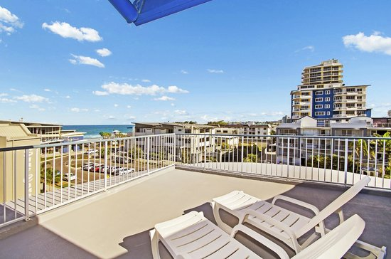 Coral Sea Holiday Apartments: Sundeck of Rooftop Apartments