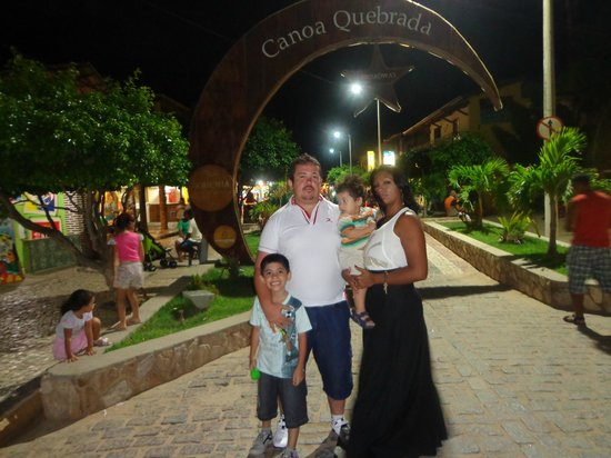 Falesia Praia Hotel: Broadway