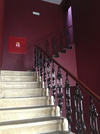 La Boutique Hotel Prague : Stairway going to the rooms