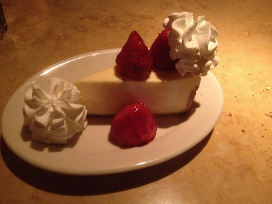 The Cheesecake Factory : Cheesecake classica con fragole