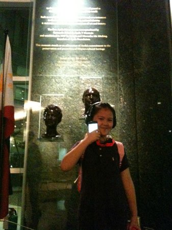 Ayala Museum: helped us in keeping her interested in Philippine History