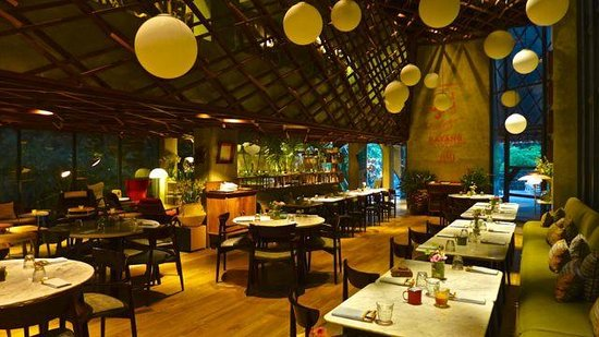 Kosenda Hotel : The general dining area in Waha Kitchen.