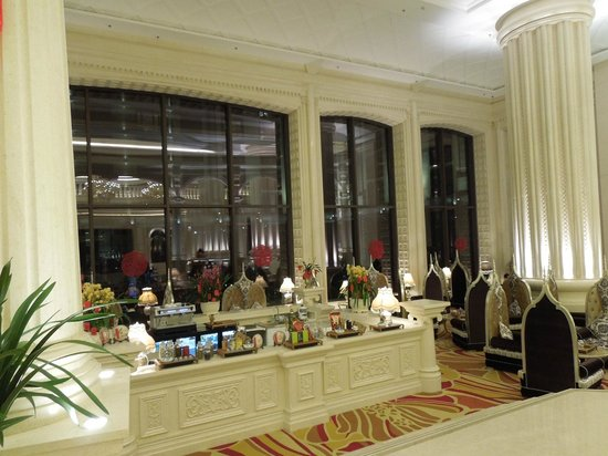 Grand Bravo Guilin: lobby lounge