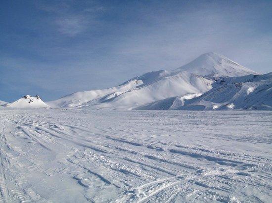Kamchatka Krai, Russia: Авачинская сопка зимой