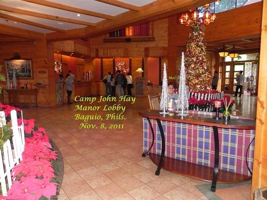 The Manor at Camp John Hay: lobby