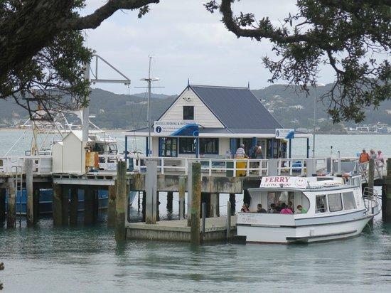 Duke of Marlborough : The Wharf - taken from the verandah